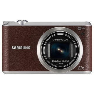 Samsung WB350F 16.3 Megapixel Compact Camera - Brown