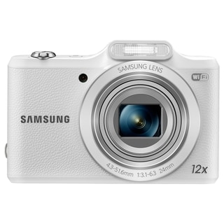 Samsung WB50F 16.2 Megapixel Compact Camera - White