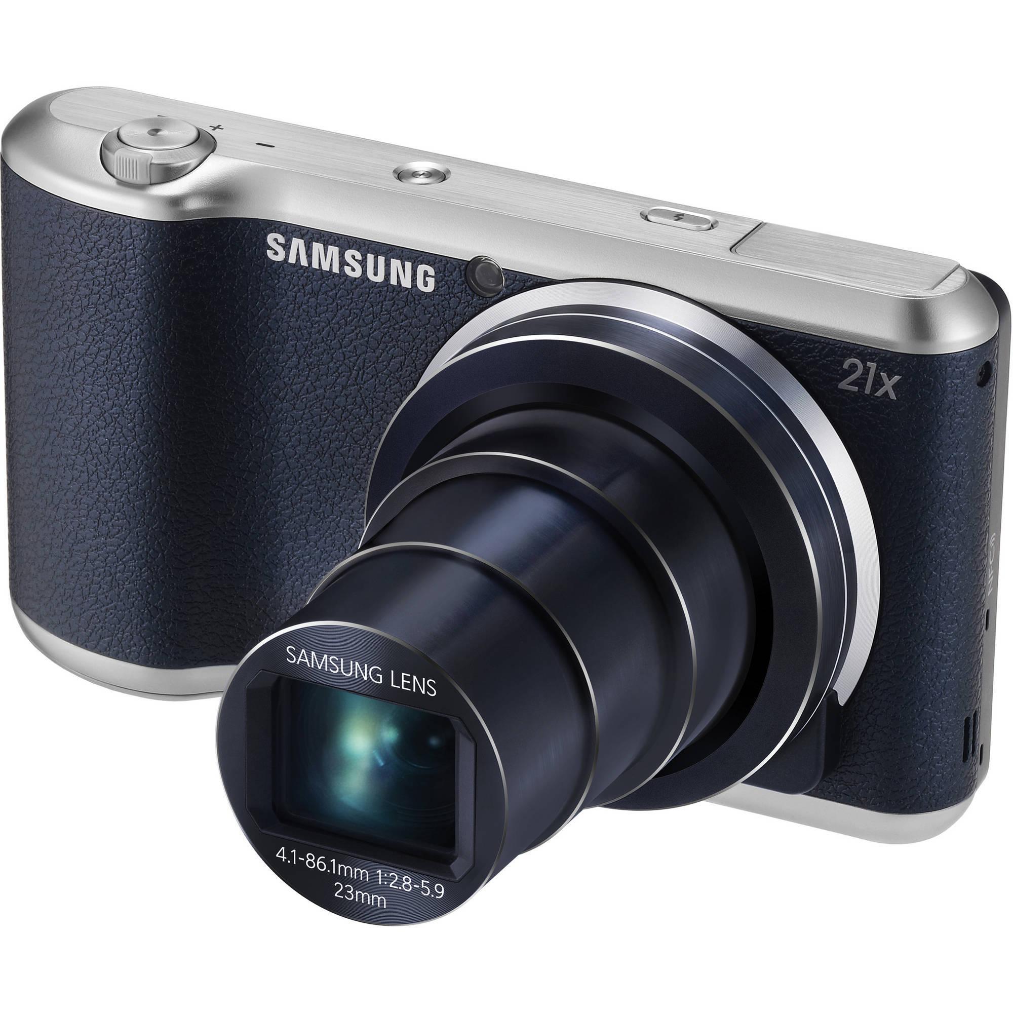 Samsung Galaxy EK-GC200 16.3 Megapixel Compact Camera - B...