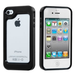 INSTEN Colorful Phone Protector Cover Bumper Phone Case Cover for Apple iPhone 4S/ 4