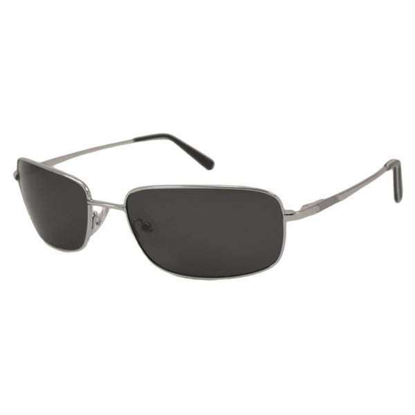 Nautica Men's N5089S Polarized/ Rectangular Sunglasses