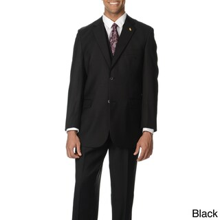 Falcone Men's Notch Collar 3-piece Vested Suit (More options available)
