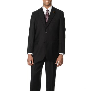 Falcone Men's Notch Collar 3-piece Vested Suit