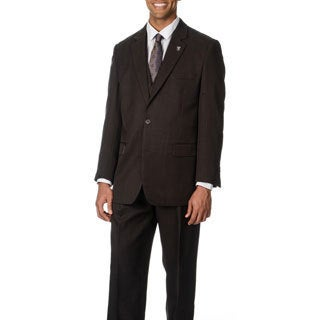 Stacy Adams Men's Brown 3-piece Vested Suit (More options available)