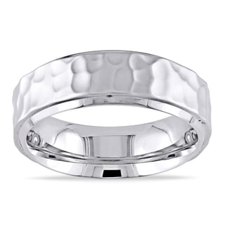 M by Miadora Men's Stainless Steel Ring