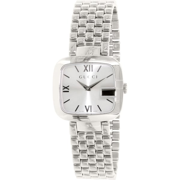 99b6d20a9e0 Shop Gucci Women s  G Gucci  Stainless Steel Watch - Free Shipping ...