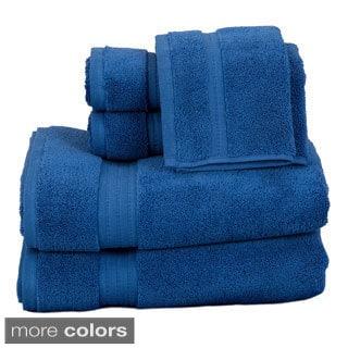 Zero Twist Super Absorbent 6-piece Towel Set