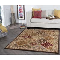 Alise Rugs Rhythm Traditional Abstract Area Rug - multi - 9'3 x 12'6