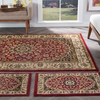 Alise Rhythm 3-piece Transitional Area Rug Set - 5' x 7'
