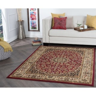 Alise Rhythm Transitional Area Rug (7'6 x 9'10) - 7'10 x 10'3