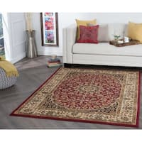 Alise Rugs Rhythm Transitional Oriental Area Rug - 7'6 x 9'10