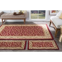 Alise Rhythm 3-piece Transitional Area Rug Set