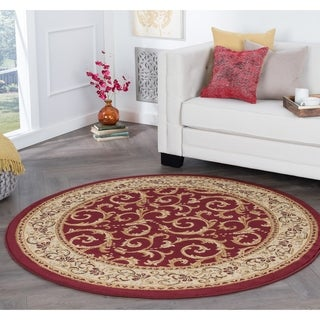 Alise Rhythm Transitional Area Rug (7'10 Round) - 7'10 x 7'10