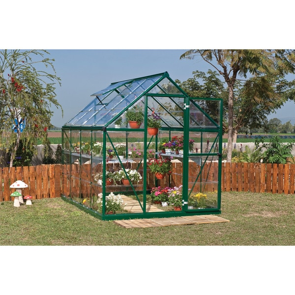 Shop Palram Harmony 6ft X 8ft Greenhouse Free Shipping