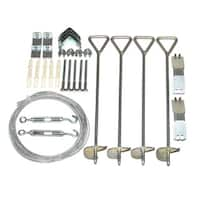 Palram Anchoring Kit for Snap and Grow Greenhouses, Model 702517