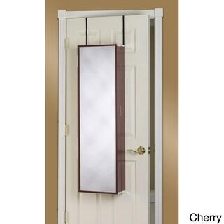 Clay Alder Home Buckman Over-the-Door Mirror Makeup Vanity Armoire (3 options available)