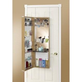 Clay Alder Home Buckman Over The Door Mirror Makeup Vanity Armoire