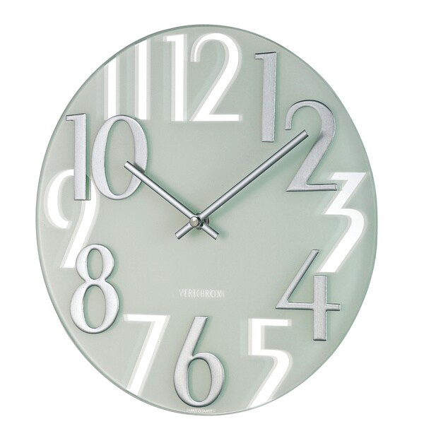 Hans Andersen Home Mirrored Numbers Wall Clock
