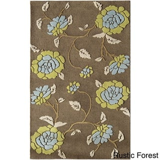 Pacific Forest Premium Wool Area Rug (8' x 11')