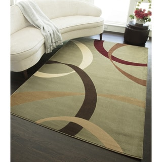 "Bands Geometric Area Rug (47 x 63) - 3'11"" x 5'3"""