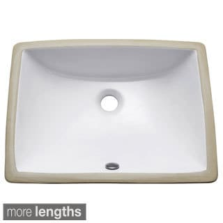 Shop Vitreous China White Vessel Lavatory Free Shipping
