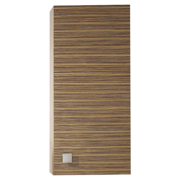 Avanity Knox 18 Inch Wall Storage Cabinet In Zebra Wood Finish Free Shipping Today 8939432