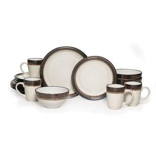 Mikasa Gourmet Basics u0027Baileyu0027 16-piece Dinnerware Set  sc 1 st  Overstock.com & Shop Pfaltzgraff Lunar Green 16-piece Dinnerware Set - Free Shipping ...