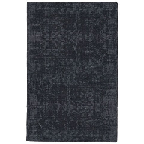 Calvin Klein Nevada Handmade Midnight Blue Area Rug by Nourison - 4' x 6'