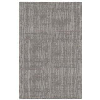 Calvin Klein Nevada Handmade Grey Area Rug by Nourison - 4' x 6'