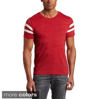 Alternative Apparel Men's Eco-Jersey Football T-Shirt (5 options available)