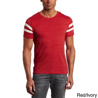 Alternative Apparel Men's Eco-Jersey Football T-Shirt