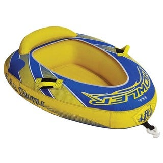 Full Throttle Howler Blue/ Yellow 1-rider Raft Tube