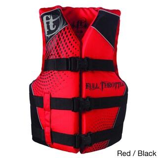 Full Throttle Teen Nylon Water Sports Vest, Blue