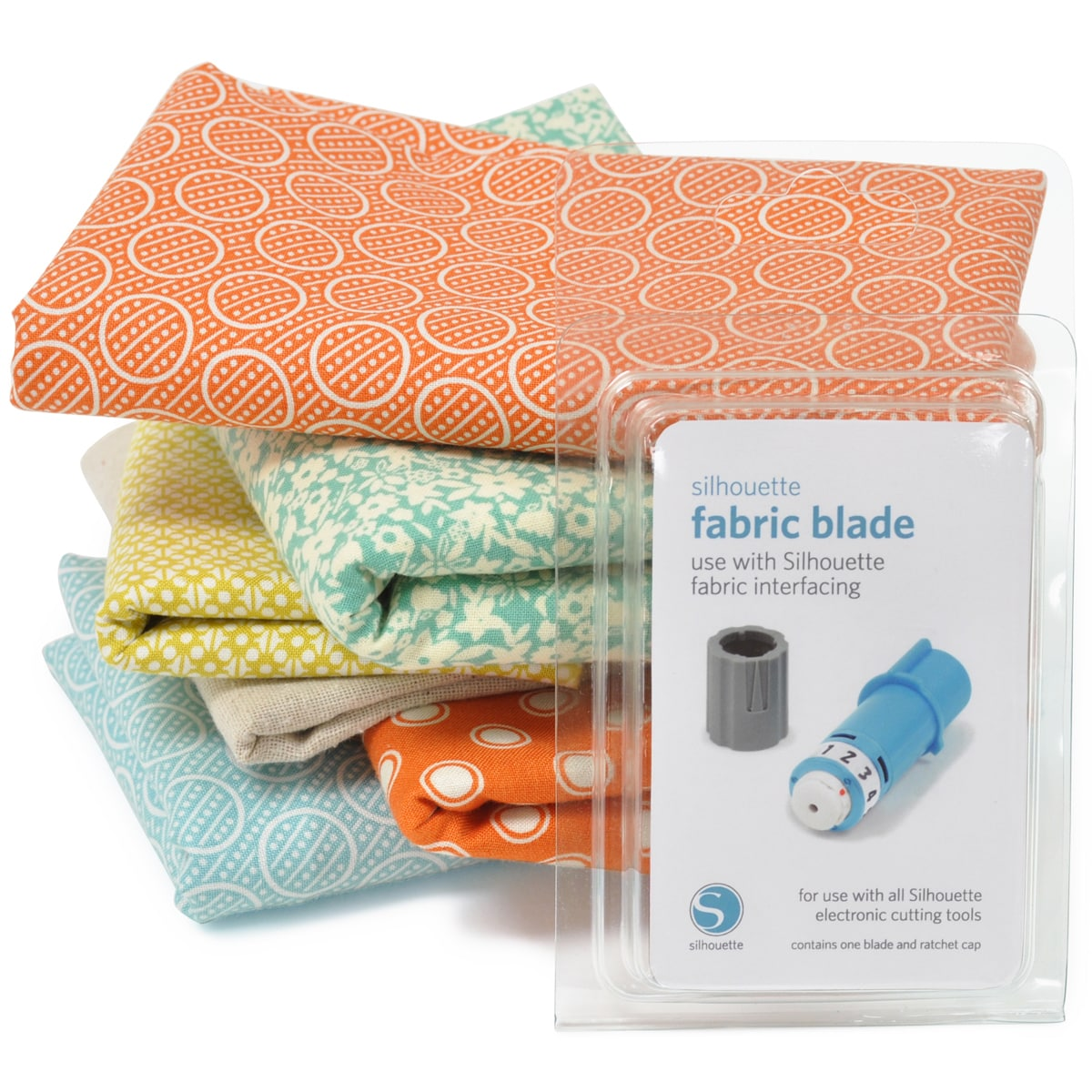 Silhouette Fabric Blade, Blue (Metal)