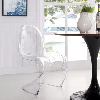 Clear Acrylic Dining/ Dining Chair