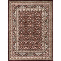 """Medallion Red Area Rug - 5'6"""" x 7'6"""""""