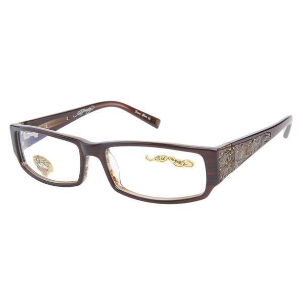 86bed09582 Shop Ed Hardy Eho 724 Hazel Prescription Eyeglasses - Free Shipping ...