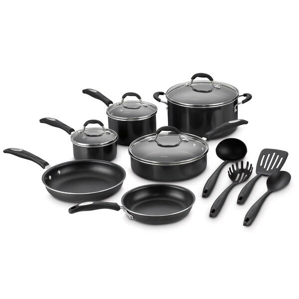 Cuisinart 14-Piece Aluminum Nonstick Cookware Set
