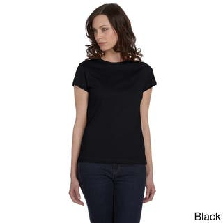 Bella Women's Crew Neck Fitted Jersey T-shirt|https://ak1.ostkcdn.com/images/products/8941810/Bella-Womens-Crew-Neck-Fitted-Jersey-T-shirt-P16155038.jpg?impolicy=medium