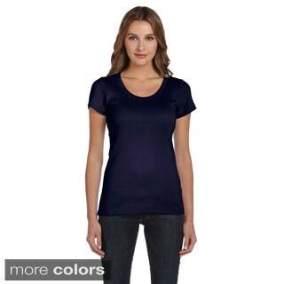 Bella Women's Scoop Neck T-shirt (Option: Pink)