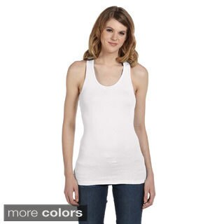 Bella Women's Sheer Rib Racerback Tank