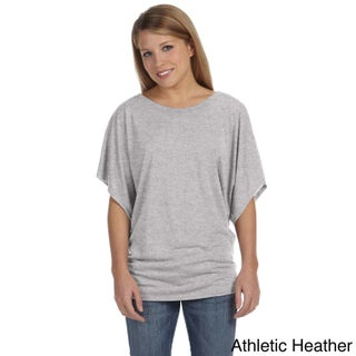 Bella Women's Draped Sleeve Dolman T-shirt (More options available)
