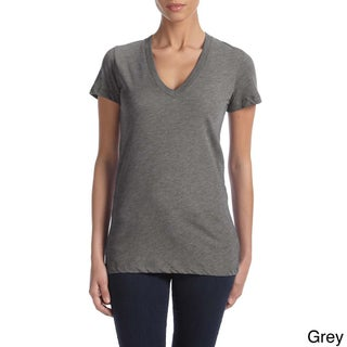 Bella Women's Triblend Deep V-neck T-shirt (More options available)