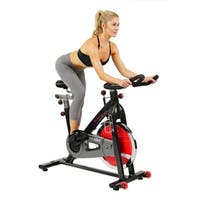 Sunny Health & Fitness SF-B1002 Belt Drive Steel Frame Indoor Cycling Bike