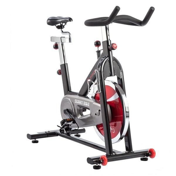 Sunny Health & Fitness SF-B1002C Chain Drive Indoor Cycling Bike - Black