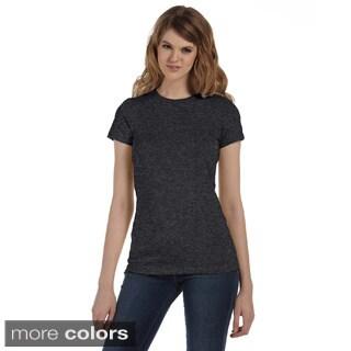 Bella Women's Crew Neck Cotton T-shirt (3 options available)