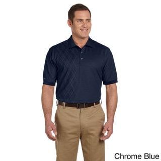 Izod Men's Performance Oxford Pique Argyle Shirt