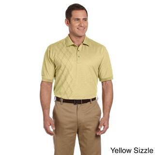 Izod Men's Performance Oxford Pique Argyle Shirt (More options available)