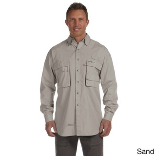 Hook & Tackle Men's 'Gulf Stream' Long Sleeve Fishing Shirt (4 options available)