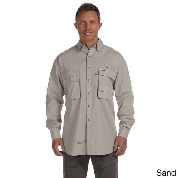 Hook & Tackle Men's 'Gulf Stream' Long Sleeve Fishing Shirt